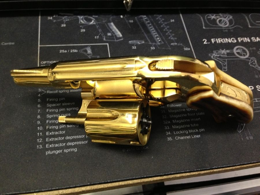 Titanium Nitride on a HK USP | Page 6 | Texas Gun Talk - The Premier