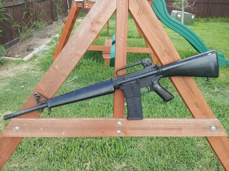 WTS/WTT AR15 A2 Colt upper, A1 stock/handguards   Texas Gun Talk