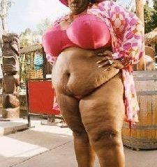 Fat black lady ass
