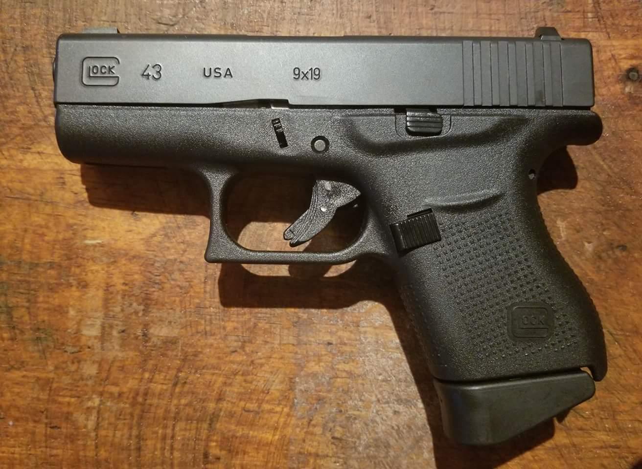 wtt like new glock 43 talo round rock texas gun talk the