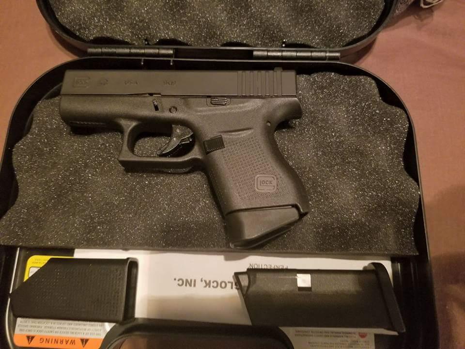 sold glock 43 talo 9mm 425 round rock texas gun talk the