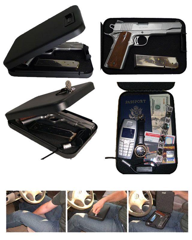 In Car Vehicle Gun Safe