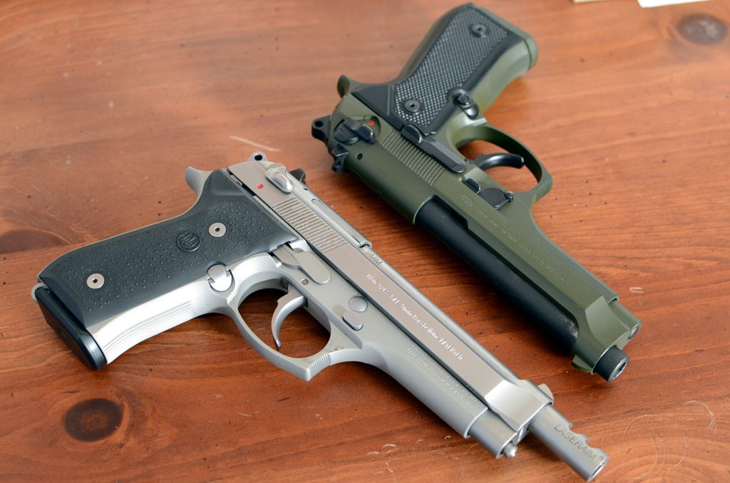 Plano Beretta 92FS Inox Stainless Ported 9mm